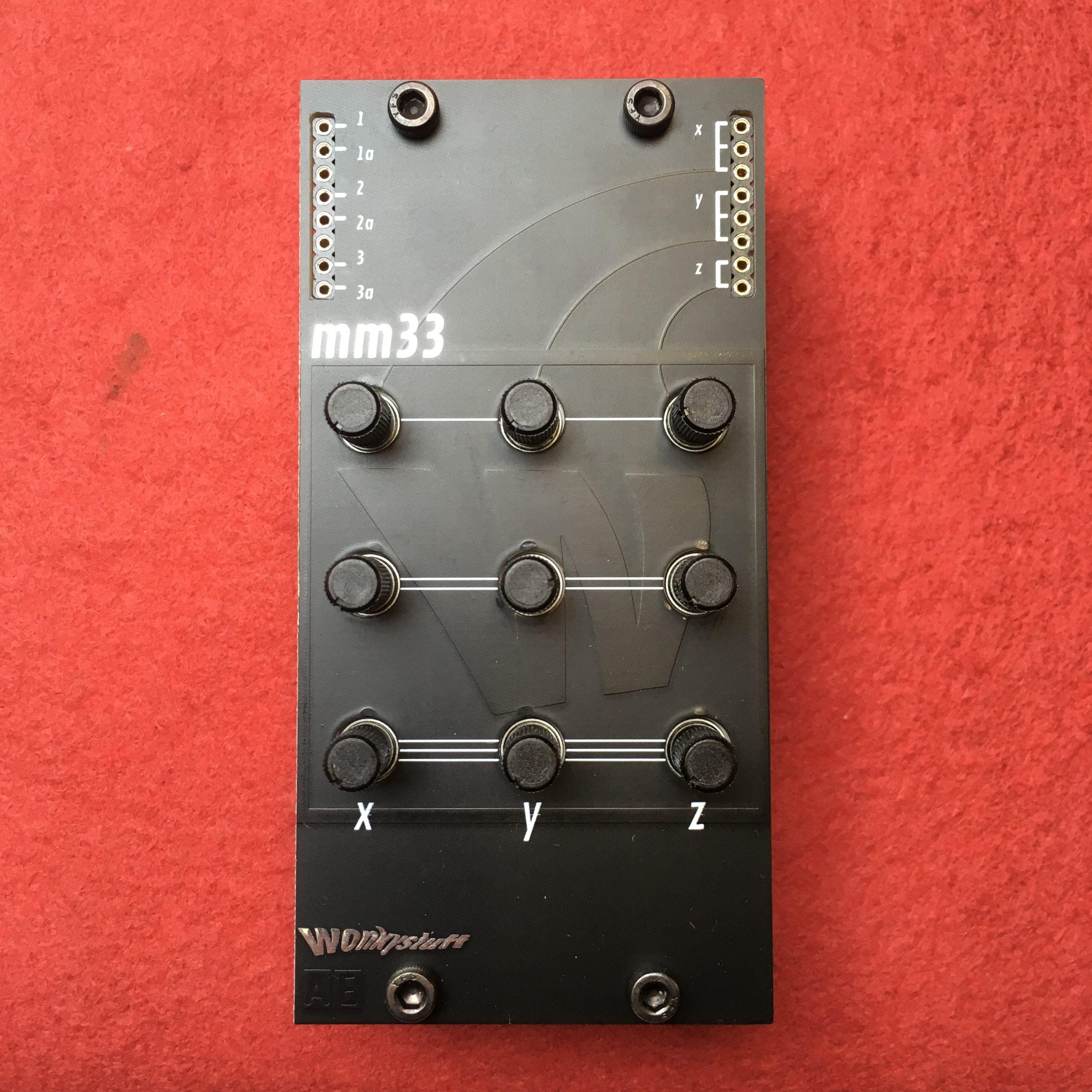 standard mm33 panel (top)